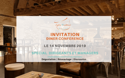 Diner conférence d'exception